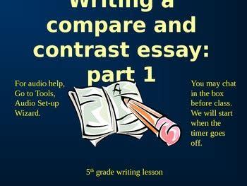 Compare contrast essay writer