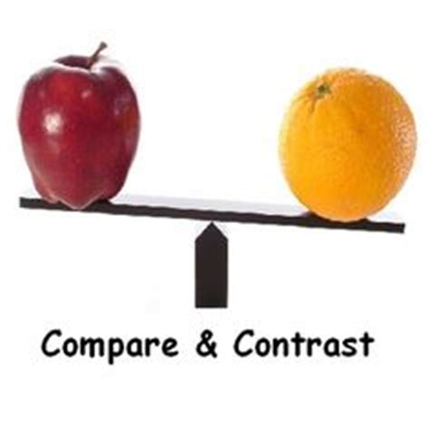 Compare and Contrast Essay Writing Guide - BloggingGyan